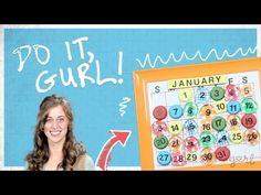 Do It, Gurl - How To Make A Calendar