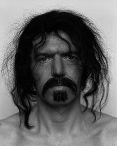 Anton Corbijn - self portrait as Frank Zappa