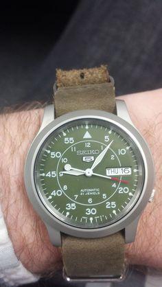 Seiko SNK805. P G · Watches a078e781a