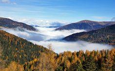 Über dem Nebelmeer / Turracherhöhe Salzburg, Austria, Mountains, Nature, Summer, Travel, Mists, Naturaleza, Summer Time