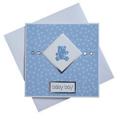 Handmade New Baby Card (Boy)