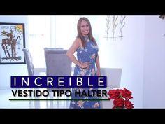 Omaira tv- DIY Increíble Vestido Tipo Halter- amazing halter dress