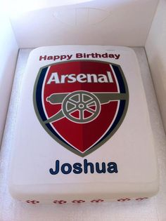 Arsenal Football Cake