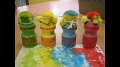 Ideas for what to do with yakult bottles!