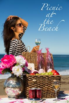 Picnic at the beach: don't forget Sofia!