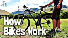 The crew at Minute Physics explain the three key factors that help a bicycle stay upright. Science Geek, Teaching Science, Science Websites, School Websites, Science Ideas, Neila Rey Workout, Matter Science, City Library, Stay Up