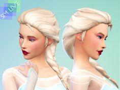 Here is Sims 4 Maxis Match Braids Gallery for you. Sims 4 Maxis Match Braids maxis match lolita crown braid at mod . Maxis, Sims 4 Cc Skin, Sims Cc, Elsa Frozen Hair, Los Sims 4 Mods, Elsa Braid, The Sims 4 Cabelos, Pelo Sims, 4 Braids