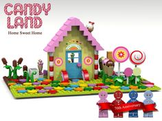 LEGO Ideas - Candy Land - Home Sweet Home