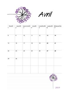 Calendrier Avril 2019 à imprimer Diy Tattoo, Tattoo Style, Tattoo Images, Bujo, Budgeting, Bullet Journal, How To Plan, Saving Tracker, Ap French