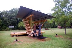 Rural studios Project Thinnings Bridge