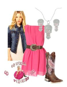 Pink country outfit