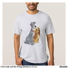 Cute Lady and the Tramp Disney, love dog t-shirt