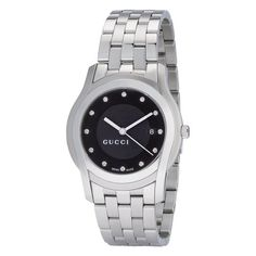 Gucci Men's YA055213 G-Class Black Dial Diamonds « Clothing Adds for your desire