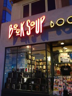 READ: Book Soup in Los Angeles, CA