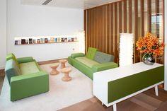 Vitra bank Polder Sofa met armleuning rechts door Hella Jongerius   www.designlinq.nl