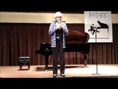 Kathi Kretzer introduction at Kretzer Piano's 2013 Music for the Mind concert featuring the Kretzer Kids.