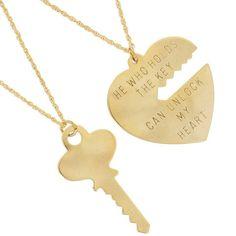 내 마음의 열쇠 목걸이, Key To My Heart Necklace.