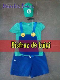 Disfraz de Luigi para él