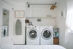 It's Kinda Boring, But Seriously, Take Care of Your Washer & Dryer so They Can Take Care of You — Weekend Project