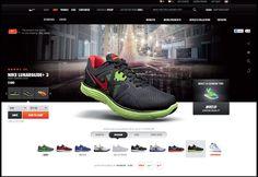 NikeStore | Designer: Meghan Pruitt
