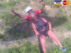 Paragliding - Parapente Montañita - Ecuador   Disfrutando del paisaje