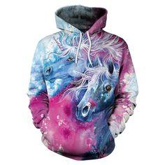 2018 Unicorn Hoodies Printed Hiphop Kawaii Unicornio Hooded Women Sweatshirt M Long Hoodie, Sweater Hoodie, Pullover, Hoodie Outfit, Unicorn Hoodie, Yellow Hoodie, Black Hoodie, Cool Hoodies, Hiphop