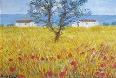 Michele Cascella - Mas, Oil on canvas