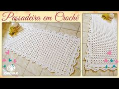 "🌼 Passadeira em crochê "" Barroco fio 10"". Por Vanessa Marcondes - YouTube Lace Doilies, Crochet Doilies, Crochet Mandala, Crochet Projects, Make It Yourself, Youtube, Rugs, Crafts, Colorful Rugs"