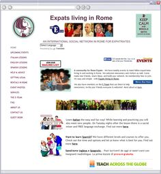 EXPATS LIVING IN ROME l UPCOMING EVENTS