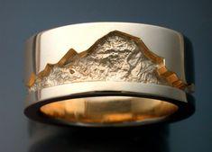 mountain wedding rings - Szukaj w Google