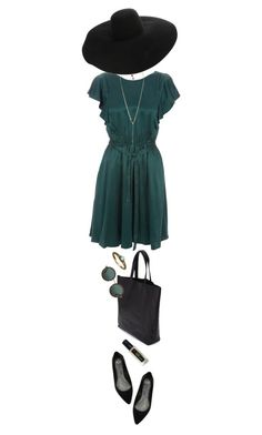 """""""Summer Dress"""" by ladomna ❤ liked on Polyvore featuring East By Eastwest, Bakers, Margaret Howell, Violeta by Mango, Lanvin and Dries Van Noten"""