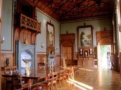 One of the rooms in the Vorontsov palace (the interior is orginal, the items were gathered from 6 Vorontsov's estates, including Odessa's palace)