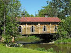 Covered Bridge near Williamstown, PA - beautiful spot!