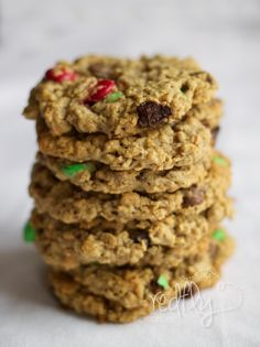 Redfly Creations: Irresistibly Healthy Oatmeal Cookies