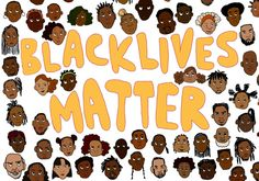 And that doesn't mean other lives don't. We are focusing on the black lives right now. Get over it.