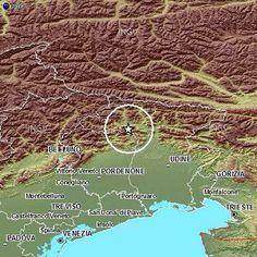Terremoto in Friuli-Venezia Giulia, scossa a Enemonzo, Lauco, Preone, Raveo, Socchieve, Verzegnis, Villa Santina