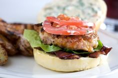 BLT Chicken Burgers.
