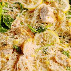 dinner recipes for family main dishes Looking for lemon chicken recipes? This Lemon Butter Chicken Pasta from is the bomb. Lunch Recipes, Cooking Recipes, Healthy Recipes, Pasta Recipes For Dinner, Pasta Recipes Video, Meat Recipes, Cooking Tips, Food Dishes, Main Dishes