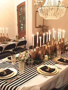 Black Gold And White Party Decor 40th Birthday Parties Dinners