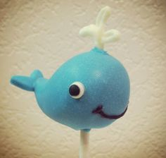 Blue Whale Cake Pops