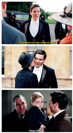 Thomas Barrow in Downton Abbey: The Final Episode // i dunno how i feel about thomas here... he's changed and grown as a person. Is less selfish and vindictive... but i don't know if i like him as downton's butler :/