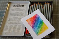 Paru's Perceptions: watercolour stamping. masking fluid