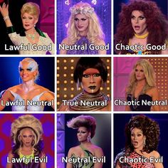 queens' D&D moral alignment