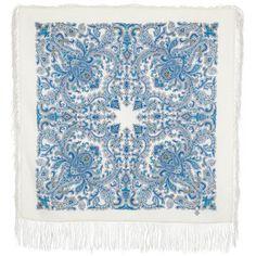 Russian Pavlovsky Posad shawl