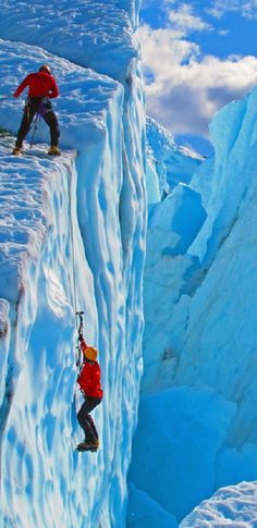 Ice Climbing, Alaska