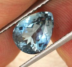 2.19 cts CERTIFIED Santa Maria Blue Aquamarine (BRB11) | gemstones | aquamarine | faceted gemstone | coloured gemstones