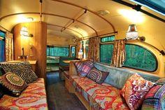 Cool camper interior