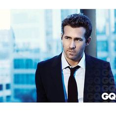 Ryan Reynods for GQ Magazine #johnrusso #johnrussophoto