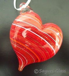 Red Stripe Heart Ornament  http://www.etsy.com/listing/75525328/red-stripe-heart-ornament-2-disaster?ref=sr_gallery_32ga;_search_submit=Searchga;_search_query=ga;_order=most_relevantga;_ship_to=USga;_view_type=galleryga;_page=3ga;_search_type=favoritesga;_facet=favorites