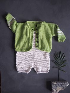 5c844f66e Our Lime green hand knitted baby cardigan, made from 100% Cotton yarn / wool